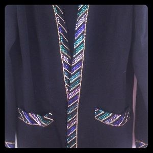 St. John Evening knit cardigan
